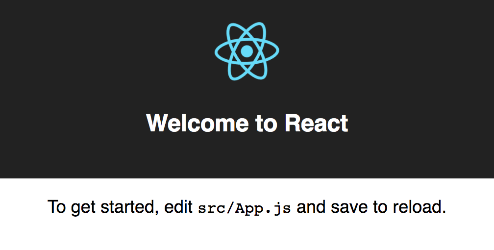 Hello World from create-react-app