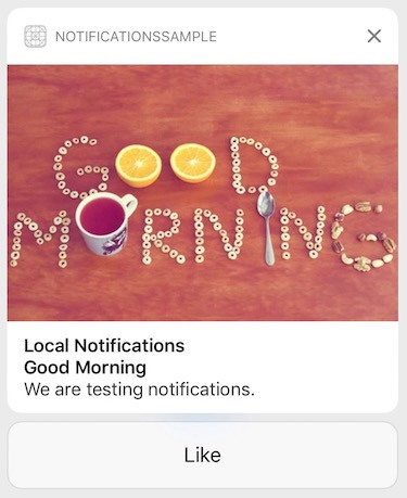 Working with iOS push notifications